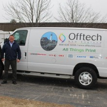 Offtech Adds New Delivery Truck